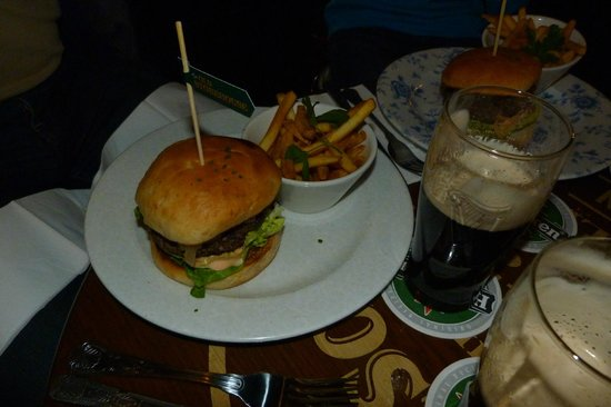 The Old Storehouse Bar & Restaurant: The Old Storehouse Irish Beef Burger