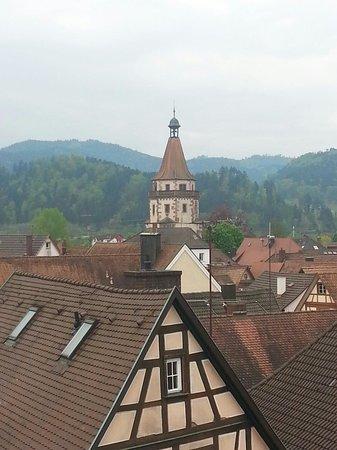 Die Reichsstadt GmbH : Vistas desde la habitación del piso superior