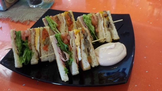 Cappucino House : Club sandwich