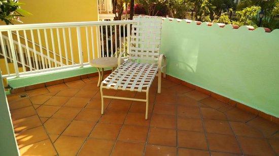 Las Casitas Village, A Waldorf Astoria Resort : front balcony