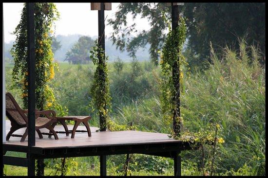 Manee Dheva Resort & Spa: Vue depuis la villa