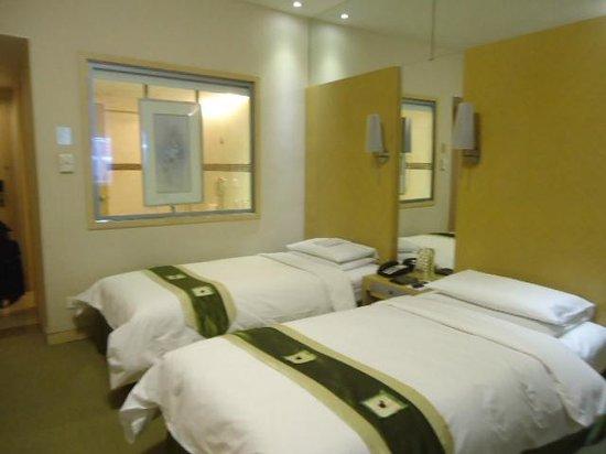 Regal Shanghai East Asia Hotel: バスルームは部屋からも見えます