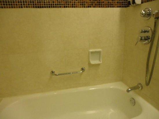 Regal Shanghai East Asia Hotel: お風呂は欧米風の低いタイプ