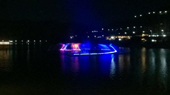 Fortune Select Dasve, Lavasa : Laser show in the lake
