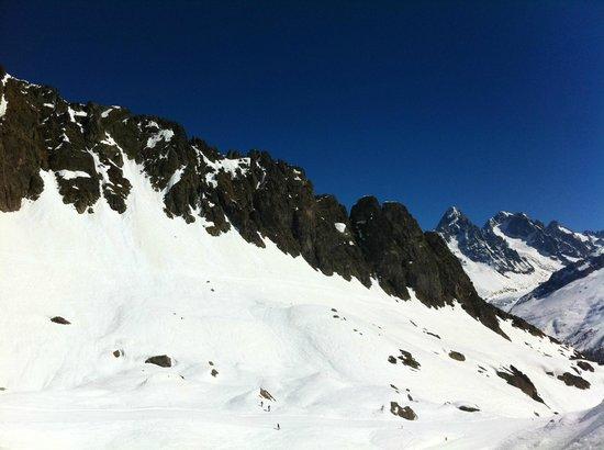 Club Med Chamonix Mont-Blanc: Skiing area