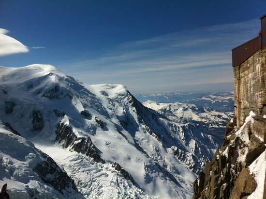 Club Med Chamonix Mont-Blanc: View from Aigullee Du Midi