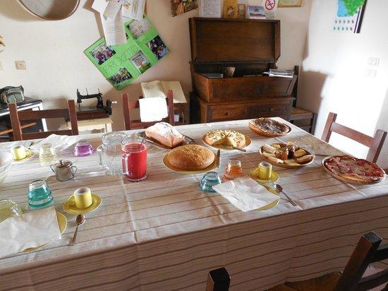 Salaiolo 176 Azienda Agricola: Buonissima colazione