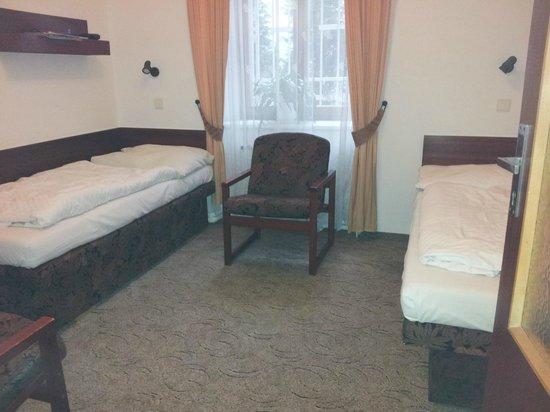 Hotel & Residence Royal Standard: Bra sängar!