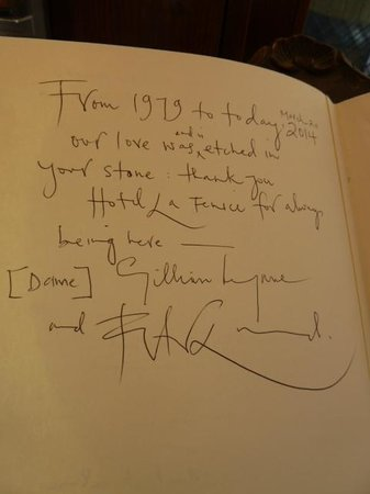 Hotel La Fenice Et Des Artistes: Dame Gillian Lynne