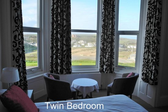 Atlantic House Hotel: Twin room with panoramic view