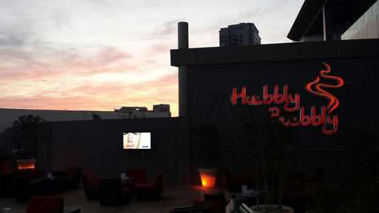 Holiday Inn Abu Dhabi: Hubbly Bubbly  Holiday Inn