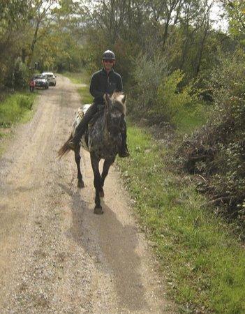 Agriturismo Il Cornacchino: ride in the hills