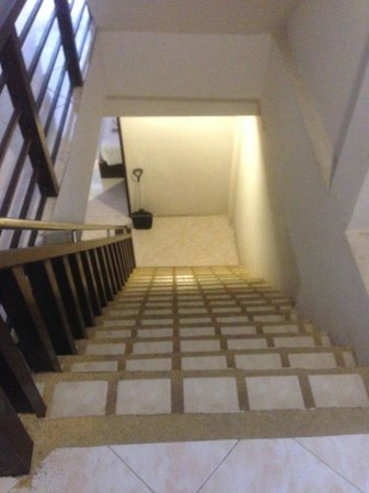 Ascot Krabi: Staircase
