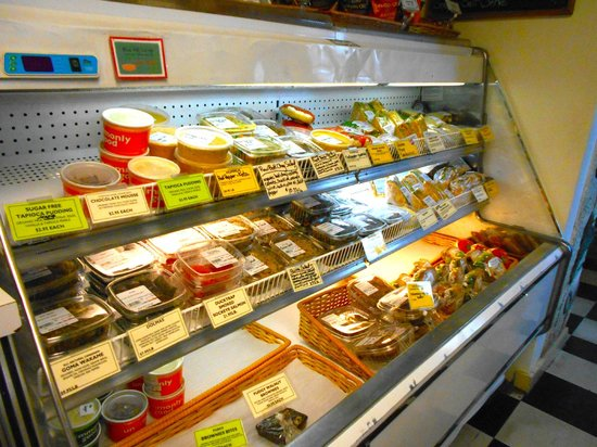 Blue Hill Co-op Cafe: Items made fresh daily for our deli case