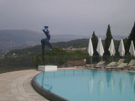 Le Mas Candille : piscine