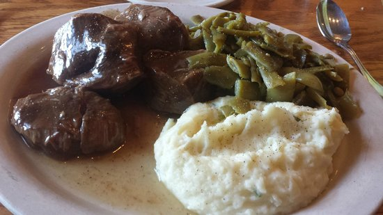 The Old Mill Restaurant: Southern Style Pot Roast & Gravy Dinner (Luncheon)