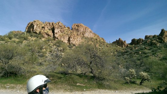 Arizona ATV Adventures : views on Box Canyon ATV tour