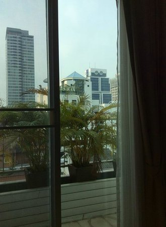 Sabai Sathorn: View from living room