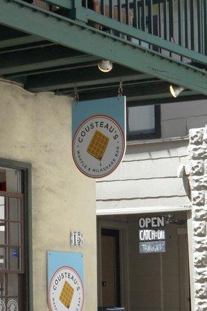 Cousteau's Waffle and Milkshake Bar: Cousteau's