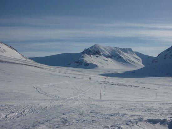 Duved, Swedia: Sylarna en vinterdag