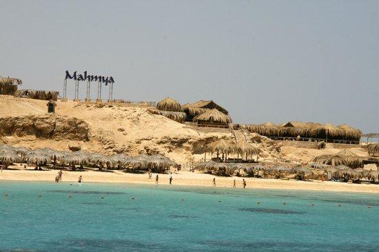 Mahmya Island : view of Mahmya beach