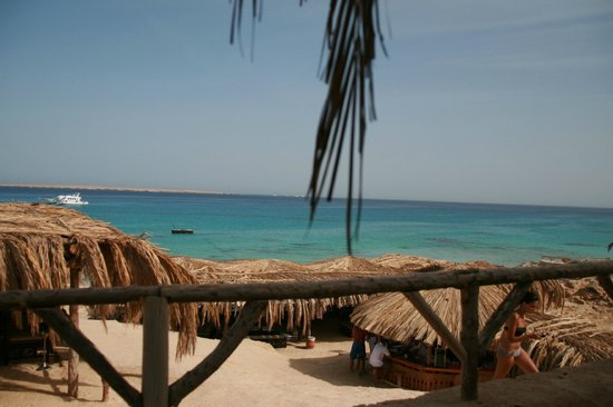 Mahmya Island : view from restaurant