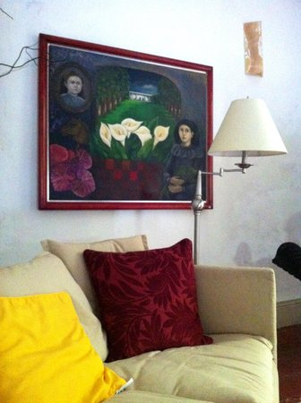 Hotel Posada San Juan: Beautifully decorated