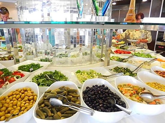 Labranda Ephesus Princess: Buffet entrées