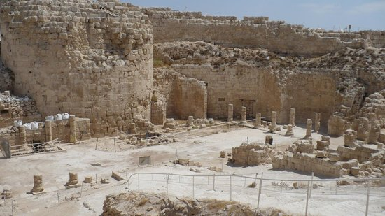 Herodium: Иродион - дворец царя Ирода, ок.15г. до н.э.