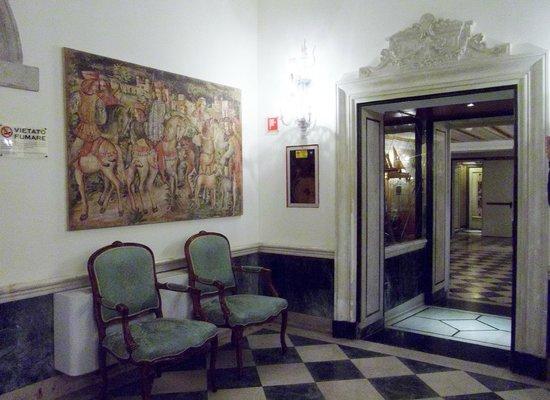 B4 Bellini Venezia : salon d'accueil au rez de chaussée