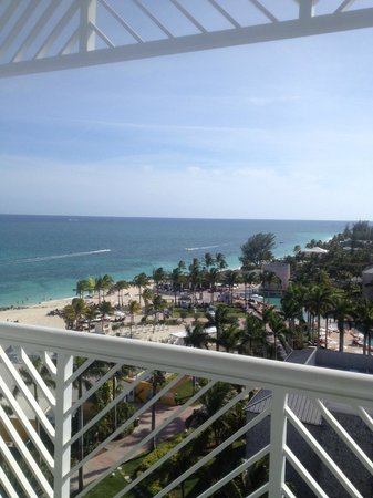 Grand Lucayan, Bahamas: Room view. 9th floor.