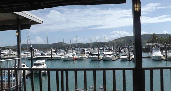 Hamilton Island Marina : From the restaurant