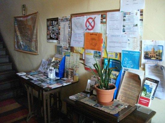 Residencia en El Cerro: Reception
