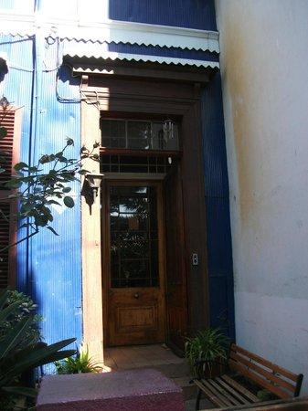Residencia en El Cerro: Entrance