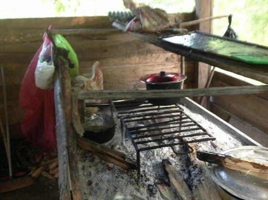 Abundancia Amazon Eco Lodge : Kitchen