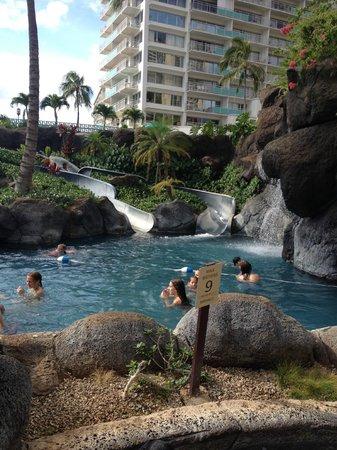 Hilton Hawaiian Village Waikiki Beach Resort: View of Slides