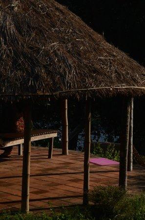 Ayurveda Yoga Villa: River meditation and ricki massage