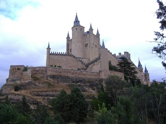 Alcazar de Segovia: L'alcazar di Segovia
