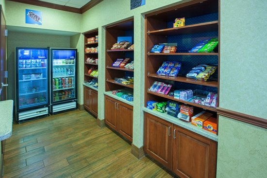 Hampton Inn & Suites Wilmington: Need a quick meal or a midnight snack?   Our Suite Shop is stocked and open 24 hours.