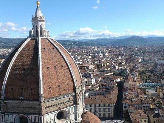 Kathedrale Santa Maria del Fiore: 鐘楼からの景色