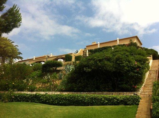 Vila Joya: Hotel vom Garten