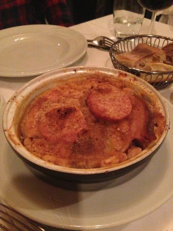 Flottes: Duck casserole with sausage
