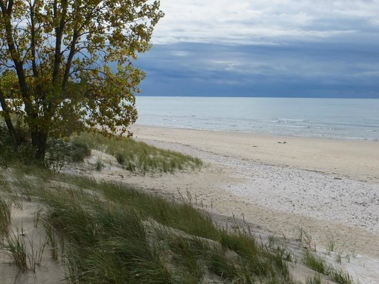 Sandbanks Provincial Park: pristine beach without the dogs