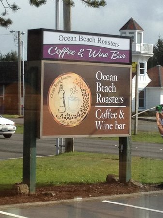 Ocean Beach Roasters & Bistro : New sign. Easy to spot.