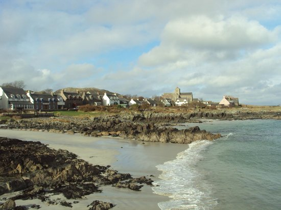 Isle of Mull Hotel & Spa: view from Iona pier