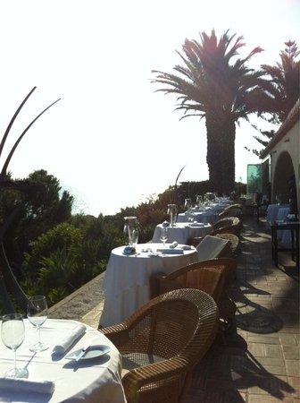 Vila Joya : Das Restaurant