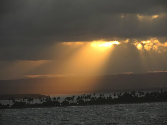 Pousada Perola Do Morro: Por do sol