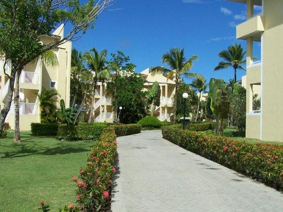 Grand Bahia Principe El Portillo : Les chambres sont situées dans de magnifiques bâtiments