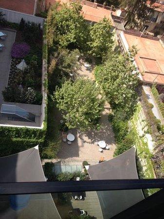 Alma Barcelona: the garden is a hidden gem