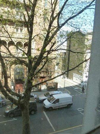 President Hotel: vue vers herbrand Street